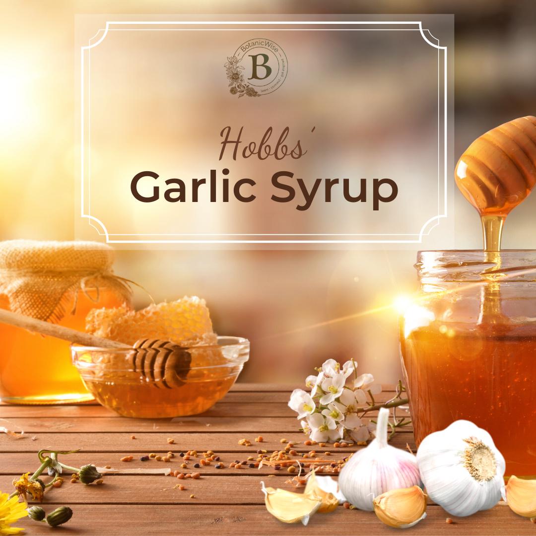 Hobbs Garlic Syrup