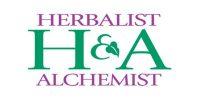 herbalist-alchemist logo